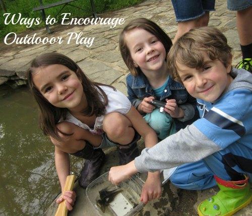 encourage outdoor play