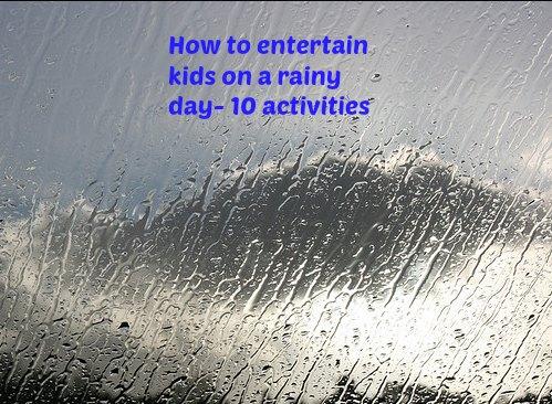 Rainy Day Activities Kids Will Love