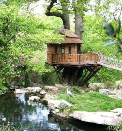 beach treehouse design idea