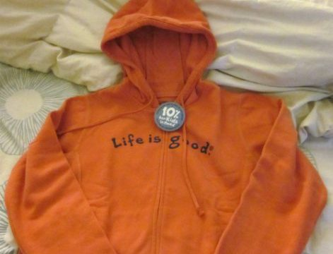 Life Is Good Hoodie Review and Giveaway