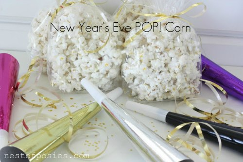 new year's popcorn craft