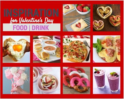 Valentine's Day Food Inspiration On Pinterest