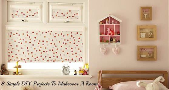 Easy diy home projects to makeover a room family focus blog for Simple home improvement ideas