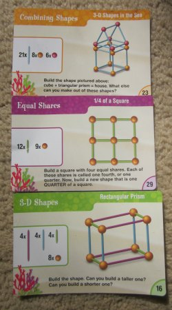 geometry activity cards