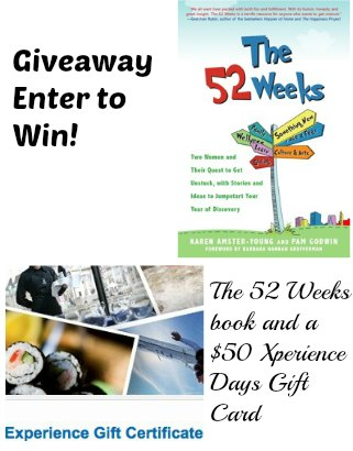 The 52 Weeks giveaway