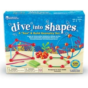Kids Geometry Set Review and Giveaway