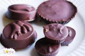 Vegan Nutty Butter Easter Candy