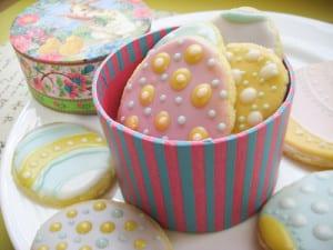 Vegan Easter Egg Sugar Cookies