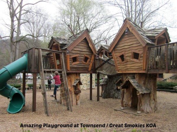 amazing KOA playground