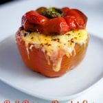 Delicious Cheesy Bell Pepper Omelet Cup Recipe