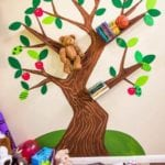 DIY Tree Bookshelf Tutorial