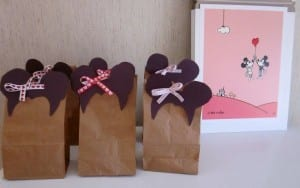 Disney themed party favor bags