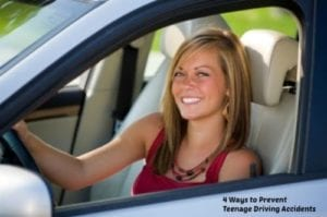 4 Ways to Prevent Teenage Driving Accidents