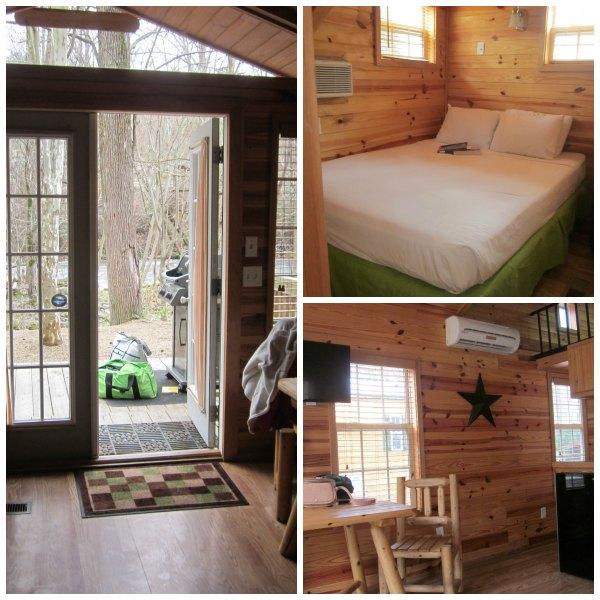 Smoky Mountain KOA Cabin Indoors