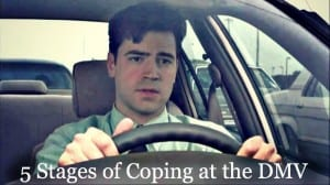 5 Stages of Coping at the DMV
