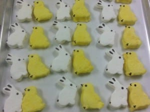Vegan Peeps for Easter