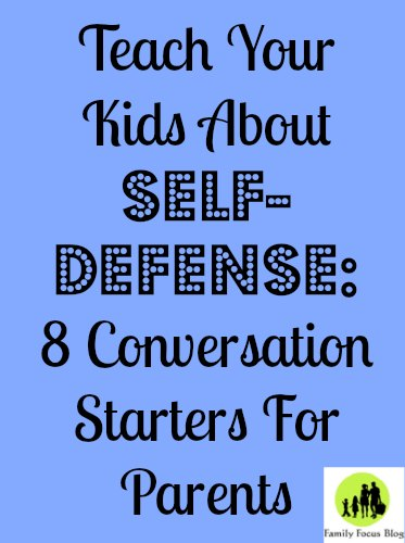 teach kids about self-defense