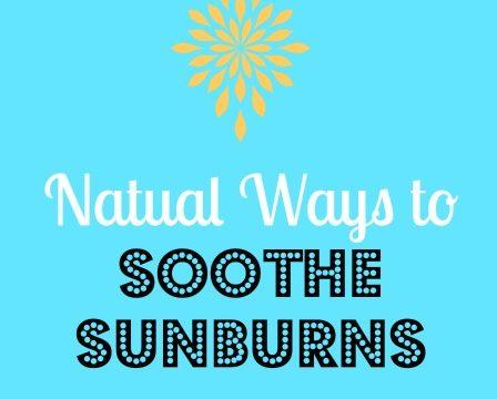 5 Natural Ways To Soothe Sunburned Skin