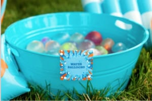 Water Balloon Fight summer activities for kids