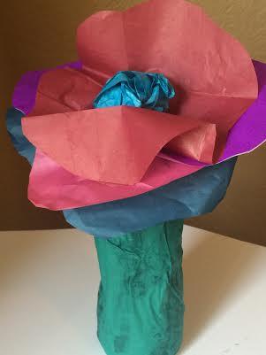 plastic bottle reuse flower craft