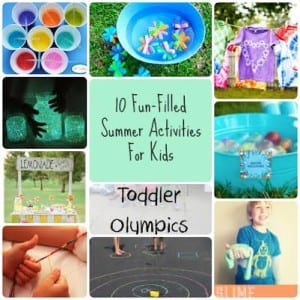 10 Great Summer Crafts Kids Will Love