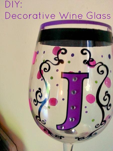 2 Fun Diy Decorative Wine Gles Projects