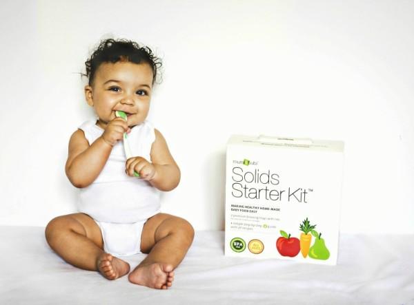Mumi & Bubi Solid Starter Kit Review- Baby Food Freezer Storage Trays