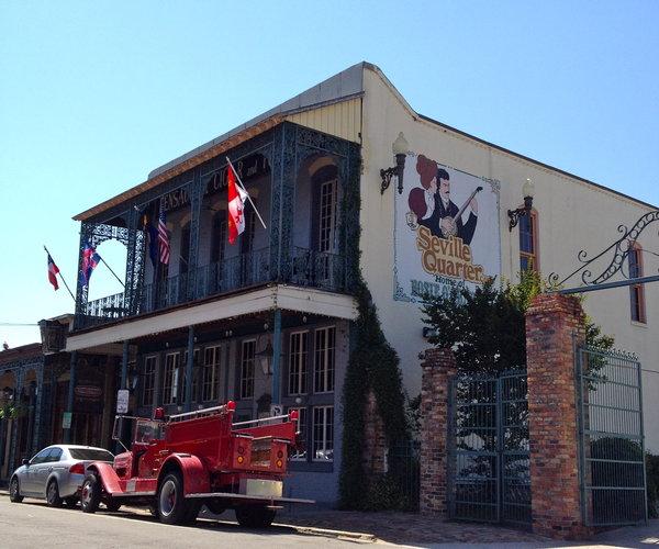 Seville Quarter restaurant in Pensacola