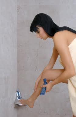 Shaving Is Easier With Elevease Save The Shower Step