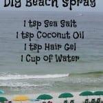 DIY Beach Hair