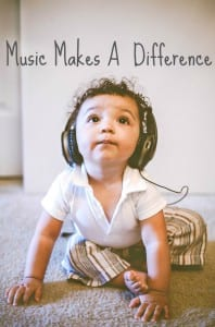 Music Makes A Difference In Children's Lives