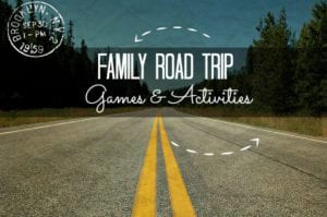 road trip games and activities