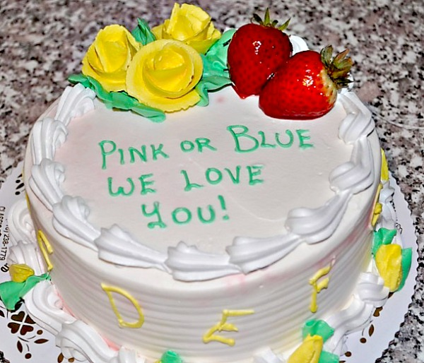 Cake Ideas For Baby Reveal Party : Baby Gender Reveal Ideas - Family Focus Blog