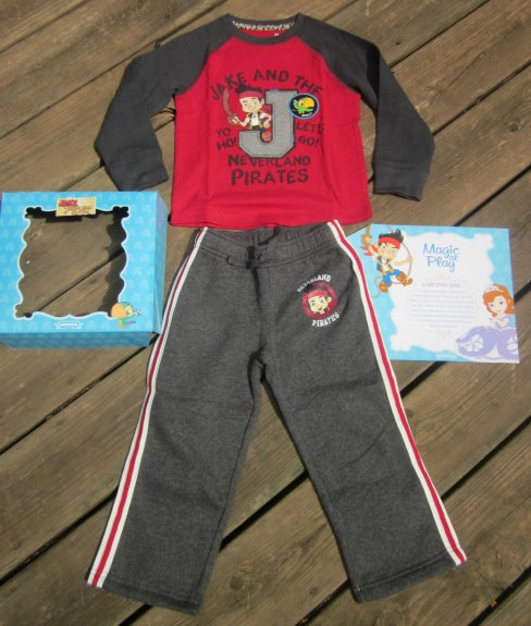 Disney Jake And Sofia Clothing Collection by Jumping Beans