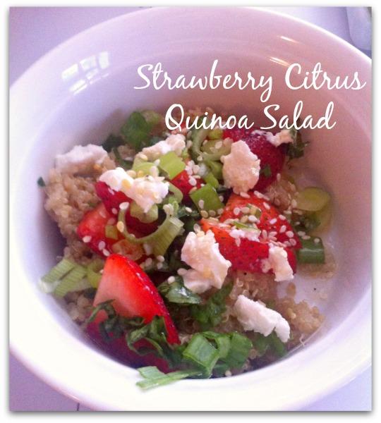 Strawberry Citrus Quinoa Salad recipe