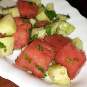Cucumber Watermelon Salad Recipe