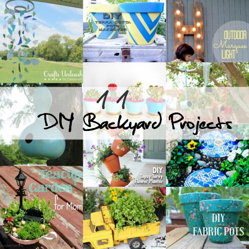 DIY Backyard Projects To Add Personality