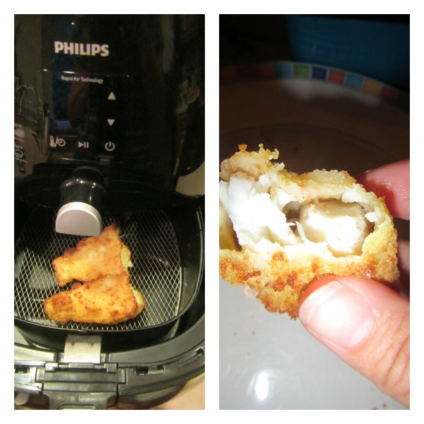 Cod Nuggets in The Philips Airfryer