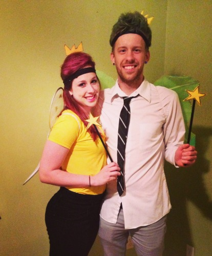 diy halloween costumes fairly odd parents couples halloween costume