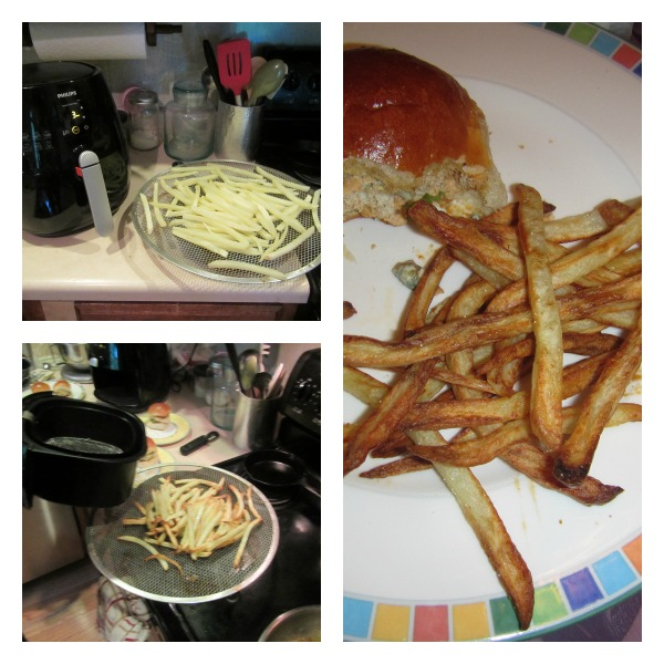 Homemade fries in the Philips Airfryer