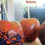 No-Waste Caramel Apple Halves