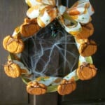 DIY Halloween Wreath #DGHalloweenHack