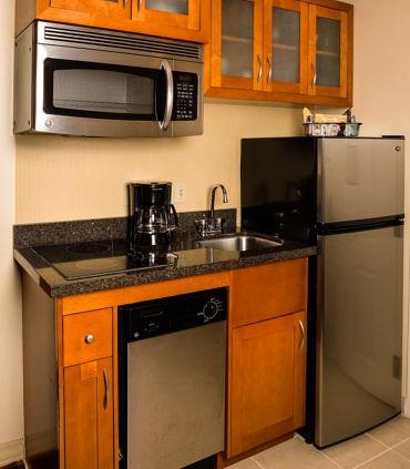 Residence Inn kitchen in suite