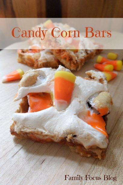 Fall Treats – Candy Corn Bars