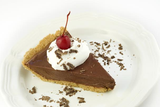 Chocolate pie from pudding mix