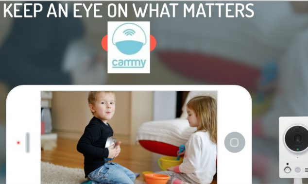 monitor your home remotely with cammy