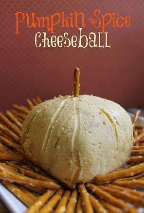pumpkin spice cheeseball