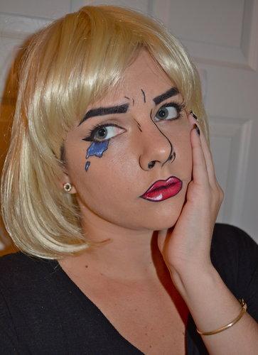 Halloween Comic Book Makeup Tutorial Family Focus Blog