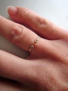 Chinchar/Maloney Handmade Jewelry Birthstone Ring