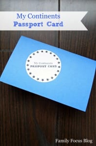 Free Printable Passport Craft: Fun World Geography For Kids